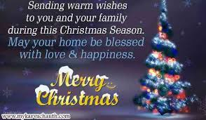 merry wishes for family boyfriend