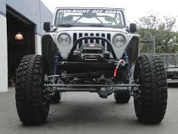 jeep wrangler front bumper tj lj winch guard front bumper steel genright jeep parts