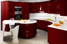 innovative red kitchen ideas for home decorating concept with