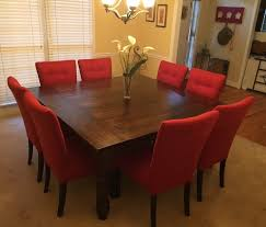 Square Dining Room Table by Square Dining Tables Choose Base James James Furniture