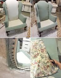 Reupholster Armchair Diy Jenny N Design Diy Reupholster A Wingback Chair