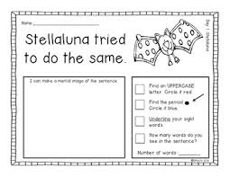 stellaluna a primary mentor sentence unit by polka dots in the