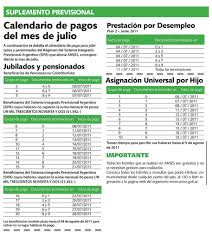 www anses calendario pago a jubilados pensionados 2016 calendario de pagos del mes de julio a continuación se det flickr