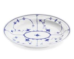 royal copenhagen blue fluted plain serveware williams sonoma