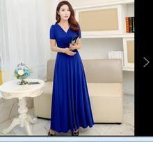 online get cheap plus size royal blue maxi dress aliexpress com