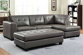 leather sofa chaisson contemporary bonded leather sectional sofa