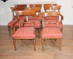 Antique Regency Dining Chairs Furniture Cool Antique Regency Mahogany Dining Chairs Close Up