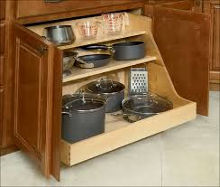 Pull Out Pantry Cabinets Kitchen Under Kitchen Cabinet Shelf Slide Out Drawers For