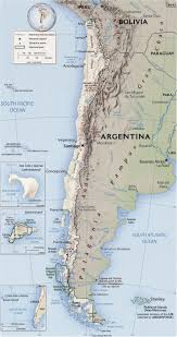 Map Of Chile South America by America Maps
