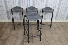 vintage lab stools stacking stools industrial plastic seats