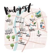 Trip Map Budapest Map Design Where To Head For Fun Food And Culture On