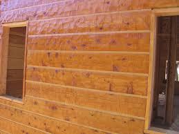 Log Siding For Interior Walls Alpine Blue Log Homes Inc Project 2 Sashco Log Home Products