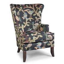 floral wingback accent chairs you u0027ll love wayfair