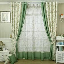 decoration rideau pour cuisine moderne style petit imprimé floral rideau pour cuisine blackout