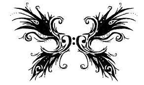 bass clef wings tattoo design best tattoo designs