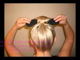 hair bun maker instructiins easy bun hair bun maker girls deals youtube