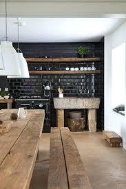 cuisine mur noir carrelage mural cuisine mosaique carrelage mosaique cuisine mur noir