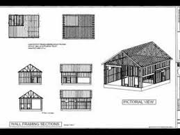 g395 30 u0027 x 40 u0027 x 14 u0027 garage with apartment plan youtube