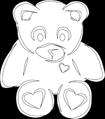 coloring pages stuffed animals stuffed animal coloring pages home