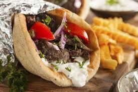 cuisine grecque recette sandwich grec ou gyro 750g