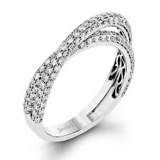diamond wedding band for designer diamond wedding and anniversary bands simon g