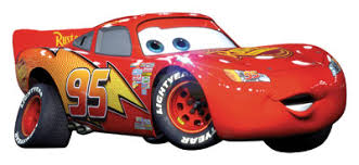 disney cars lightning mcqueen giant wall decoration decal