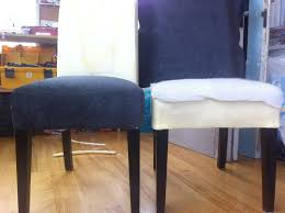 how to cover a chair diy re upholster your parsons dining chairs tips from a pro