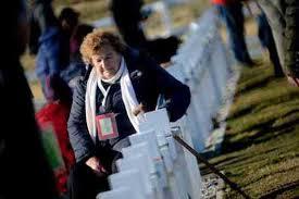 Seeking Trailer Swipe Left Family Members Of Fallen Argentine Soldiers Visit Falklands