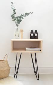 outstanding bedside table with lamp attached pictures decoration