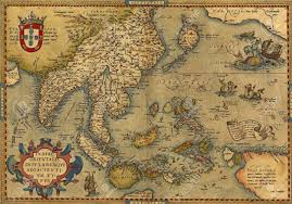 Map Of Nd Antique Map Of China And Southeast Asia By Abraham Ortelius