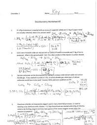 stoichiometry worksheet 4 free worksheets library download and