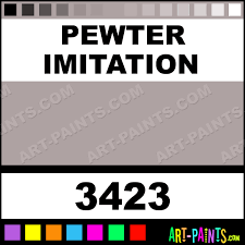 pewter imitation artist acrylic paints 3423 pewter imitation