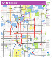 Central Florida Map by Find Your Perfect Bike Route Bike Walk Central Florida