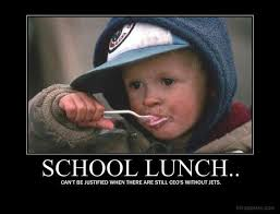 School Lunch Meme - spydersden 皓 curmudgeonly diatribes insights poems photos and