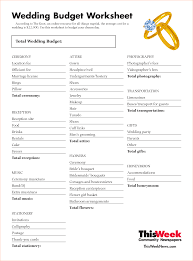 Wedding Expenses List Spreadsheet The Knot Wedding Budget 3430834 Png