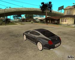 bentley mercedes bentley continental gt for gta san andreas