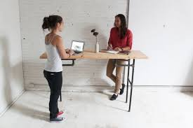 Sit Stand Desk Ikea by Diy Standing Desk Legs Best Home Furniture Decoration