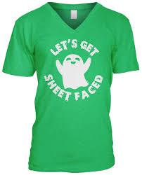 lets get sheet faced halloween ghost pun funny drunk joke beer