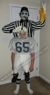 Ref Costumes Halloween Coolest Diy Zombie Football Referee Halloween Costume Football