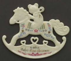 christmas ornaments baby baby s christmas ornaments by lenox at replacements ltd
