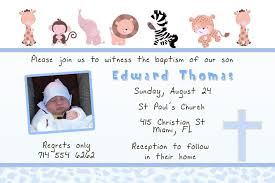 Personalized Invitation Card For Birthday Invitation Card For Baptism Invitation Card For Baptism And