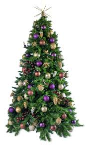 woodland artificial decorated tree hire the happy