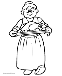 free thanksgiving food coloring pages 003