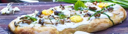 chef pizza grilled pizza with parmesan bechamel sauce recipe by chef