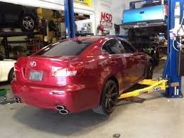 lexus isf exhaust monster motorsports south florida late model muscle car tuning