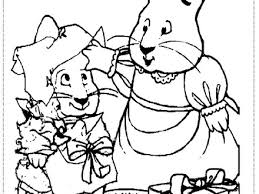 13 max and ruby coloring page max and ruby colouring pages page