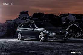 custom bmw 3 series bmw f31 sports wagon gets some visual upgrades and custom wheels