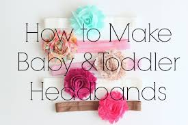 how to make baby flower headbands baby toddler headbands cities