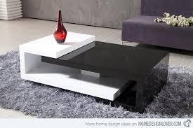 Modern Center Tables Made From Wood Home Design Lover - Sofa design center