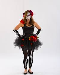 to die for diy day of the dead costume starting with mix